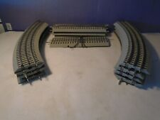 LIONEL FasTrack Lot 8 Curves, 3 Straights, 1 Straight w Terminal Wires