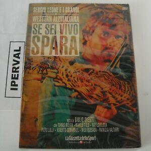 SE SEI VIVO SPARA Dvd SERGIO LEONE Versione DIRECTOR'S CUT Speciale Western