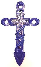 Marine Cross Military United States 12x7inch New Wall Hanging Patriotic US Decor