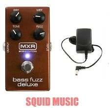 MXR Deluxe Bass Fuzz Effects Pedal M-84 ( FREE POWER SUPPLY ) M84 DUNLOP