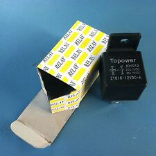 CAR AUTOMOTIVE RELAY 4 PIN  80 AMP 12V   good for HHO generator , 310, g123