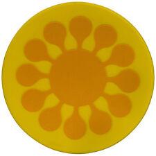 Sagaform:Juicy:04 de septiembre sottobicchieri -agarraderas amarillo de silicona