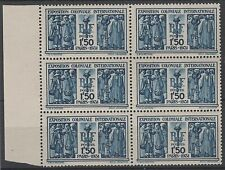 "FRANCE STAMP TIMBRE 274 "" EXPOSITION COLONIALE 1F50 BLOC DE 6 "" NEUF xx TTB N765"