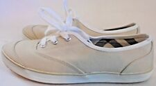 ST JOHN'S BAY, LADIES (( NEW )) NUDE CANVAS ATHLETIC SHOE, SIZE 6 M