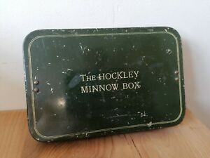 THE HOCKLEY MINNOW BOX - VINTAGE FISHING TACKLE