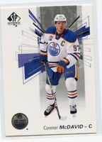 16/17 SP AUTHENTIC BASE #97 CONNOR MCDAVID OILERS *46692