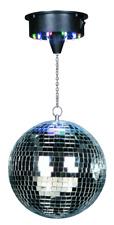 IBIZA DISCO1-20 DISCOLIGHT SET SPIEGELKUGEL 20CM LED MOTOR PARTY DISCO CLUB DJ