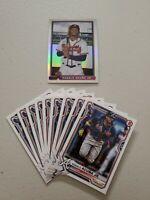 Ronald Acuna Jr. (10) Lot 2021 Bowman 1991 Insert Refractor + Paper base x 9