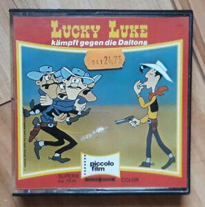 Lucky Luke kämpft gegen die Daltons auf Super 8 - Piccolo Film