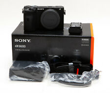 Sony Alpha a6600 24.2MP Mirrorless Camera (Body Only) - Low Use! (USA)