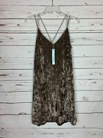 She + Sky Stitch Fix Women's S Small Velvet Velour Holiday Party Dress NEW TAGS