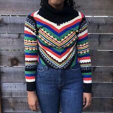 New listing Womens Vintage 70s Sweater Hippie Trippy Psychadelic
