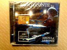 PAOLO CONTE  live  -  ARENA DI VERONA  -  2 CD 2005  NUOVO E SIGILLATO