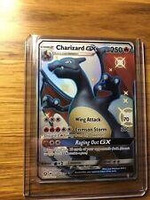 Shiny Charizard GX SV49 / SV94 Pokemon Sun & Moon: Hidden Fates