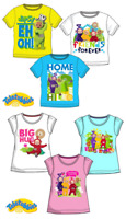 BOYS GIRLS TELETUBBIES CHILDREN T-SHIRT KIDS SHORT SLEEVE TOP AGE 3, 4, 5 & 6