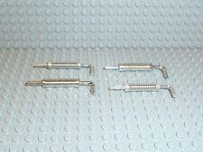 LEGO® Chrome Silber silver Technic Zubehör 4x Chrome Auspuff LKW/Rennwage K138