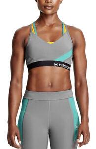 Mission Women's VaporActive Temper Racerback Medium Impact Sports Bra Size XS