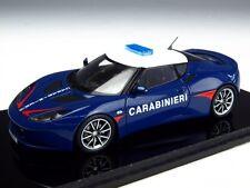 Spark S2195 1/43: 2011 Lotus Evora S ' Carabinieri ' Italian Highway Police Blue