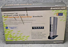IOGEAR GCS1714 MiniView III USB KVMP Switch Kit Complete Tested Working (BBox2)