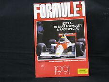 Book Formule 1 1991 door Anjes Verhey