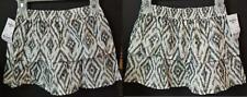 OshKosh B'gosh Girls' Gathered 2-teir Skirt - Black & White NWT Size 5T