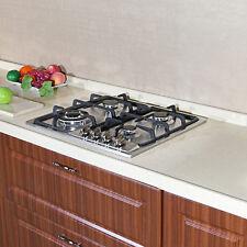 Metawell 23'' Built-In 4 Burners Gas Hob Cooker Stainless Steel Cooktop