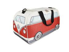 Daypack Sport Gym Travel Bag T1 Camper Van Bus Red VW Collection by BRISA BUST11