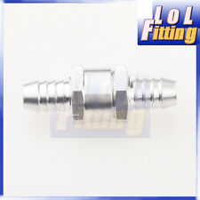 "6mm 1/4"" Fuel Non Return One Way Check Valve Petrol Diesel Aluminium Alloy"