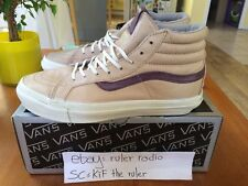 2012 Vans Vault Sk8-Hi italian leather US 8.5 Supreme Syndicate vintage OG
