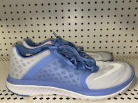 Nike FS Lite Run 3 Womens Athletic Running Training Shoes Size 8.5 White Blue