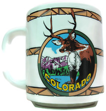 Cup 1994 Colorado Coffee Mug With Buck Mountains River