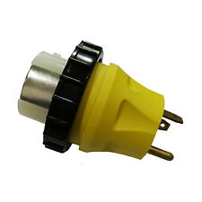 Parkworld 691722 RV 30A TT-30P Male to Marine 50A SS2-50R female Power Adapter