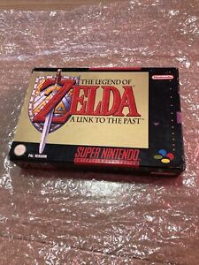 The Legend Of Zelda: A Link To The Past Snes Super Nintendo COMPLETE PAL ESPAÑA