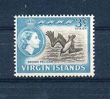 BRITISH VIRGIN ISLANDS 1964 DEFINITIVES SG180 3c (BIRD)  MNH