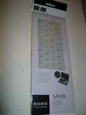 SONY VGP-AMKBL14/W VAIO FLIP PC LAPTOP KEYBOARD PROTECTOR SKIN, WHITE
