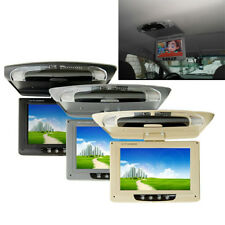 9 Inch LCD TFT Roof Mount Ceiling Flip Down Car Monitor TV Player 800*480 Screen