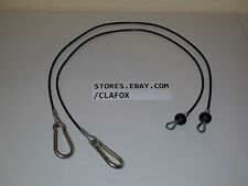 """Bowflex 35"""" Replacement Squat Cables For Bow Flex Includes 2 Each Brand New"""