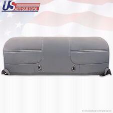 1999 2000 2001 Ford F550 Work Truck Bench Bottom Vinyl Seat Cover Graphite Gray