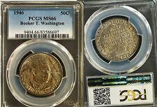 1946 U.S. Commem Half Dollar - Booker T. Washington - MS-66 (PCGS)     #6697