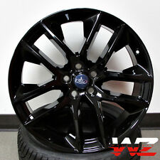"20"" Ford Mustang Style Wheels Gloss Black Rims Fits 2005 & Up Mustang Models"