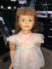 """VINTAGE IDEAL PATTI PLAYPAL DOLL G-35 35"""" ORIGINAL DRESS AND SHOES"""