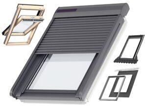Dachfenster Velux optional Rollladen Solar SSL Schwingfenster Holz Thermo GZL