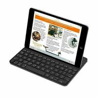 LOGITECH ULTRATHIN KEYBOARD COVER BLACK FOR IPAD MINI