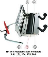 Tapofix Ersatzteil Nr. 153 Kleisterkasten komplett - Kleistermaschine PROfix -