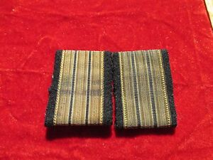 American Airlines 3 Bar Gold Pilot Epaulettes First Officer Shoulder Board loop