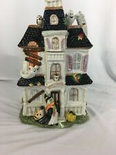 Fitz and Floyd Haunted House Cookie Jar