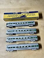 Vintage American Flyer S Scale Model Train Passenger Car Set Lot Of 4 As-Is