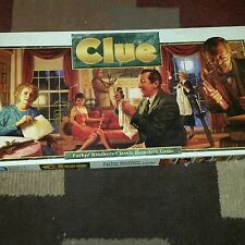 1992 Clue Game Xtra Board Complete Parker Brothers Classic Instructions Mystery