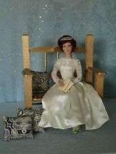 "AllforDoll OOAK DIORAMA Furniture BENCH for 16"" Dolls - Tonner Ficon BJD Kish"