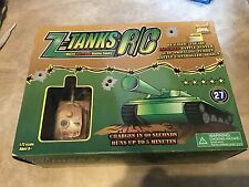Z-Tanks Remote Control Micro Infra Red Battle Tanks 1:72 NEW Atomic Toys  R/C